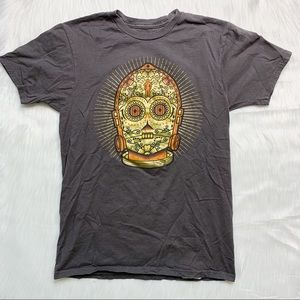 C-3PO Star Wars Disney Day of the Dead Graphic Tee